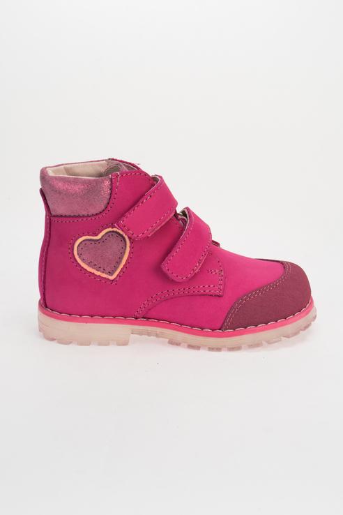 Купить 352312-21, Ботинки для девочек Котофей цв. розовый р-р. 28,