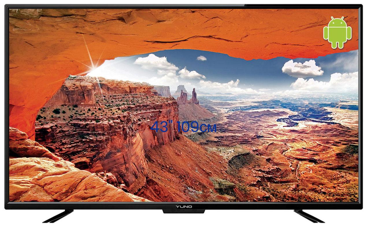 LED Телевизор Full HD Yuno ULX 43FTCS246 Black ULX 43FTCS246 черный по цене 20 690