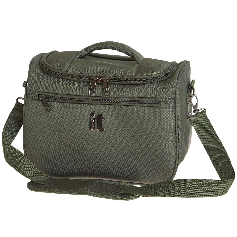 Бьюти-кейс унисекс it luggage IT11694034 хаки