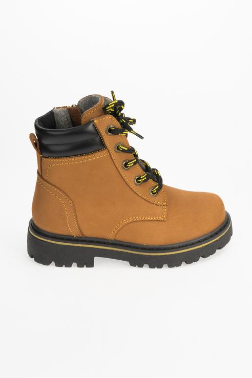 Купить 552231-32, Ботинки для мальчиков Котофей цв. коричневый р-р. 30,