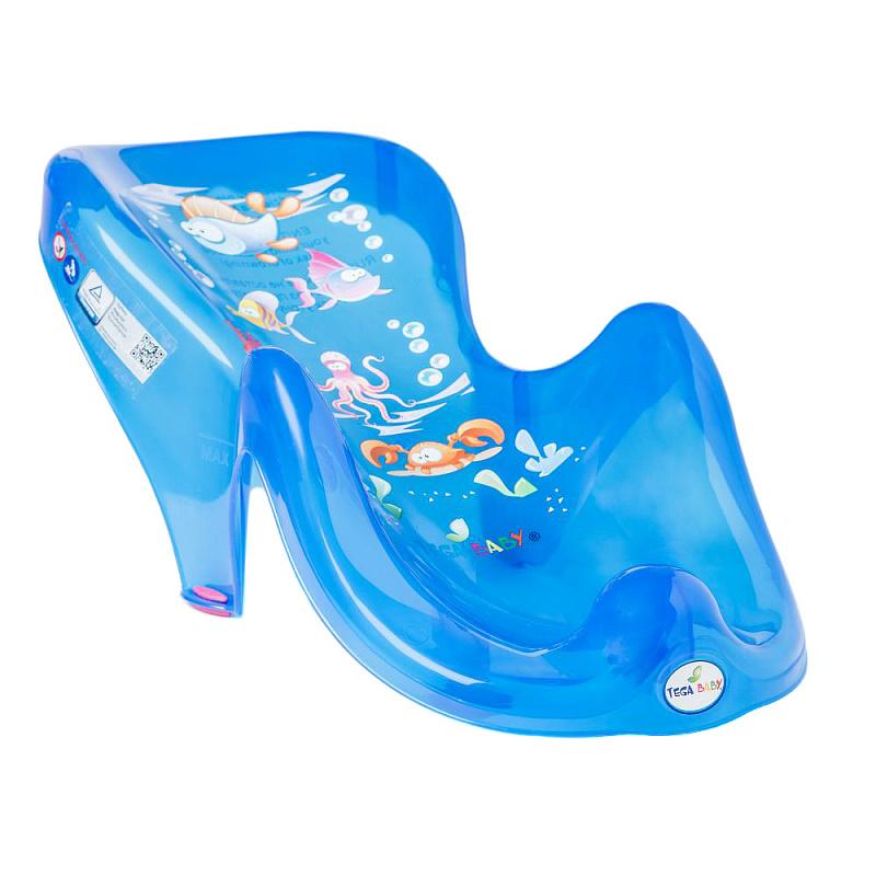 Горка для купания Аква, цвет: синий