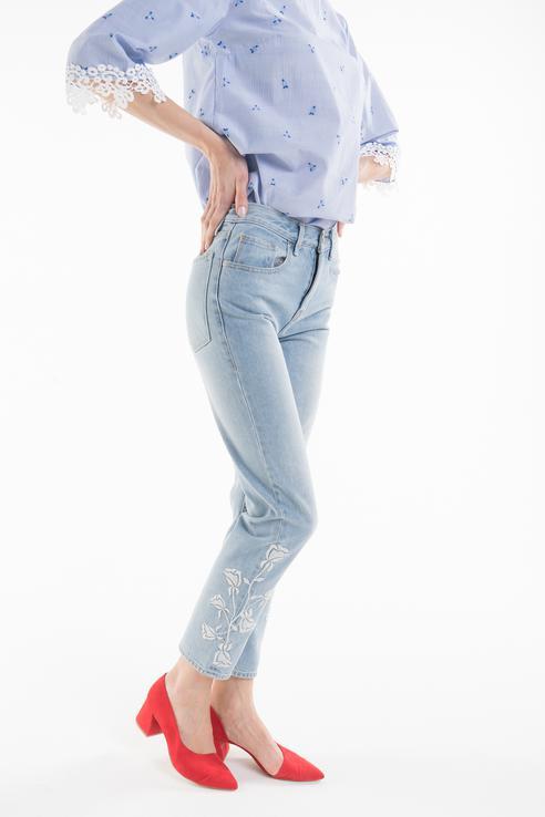 Джинсы женские Juicy Couture JWFWB86184/470 голубые 24