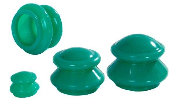 Банки массажные силиконовые для вакуумного массажа Просто