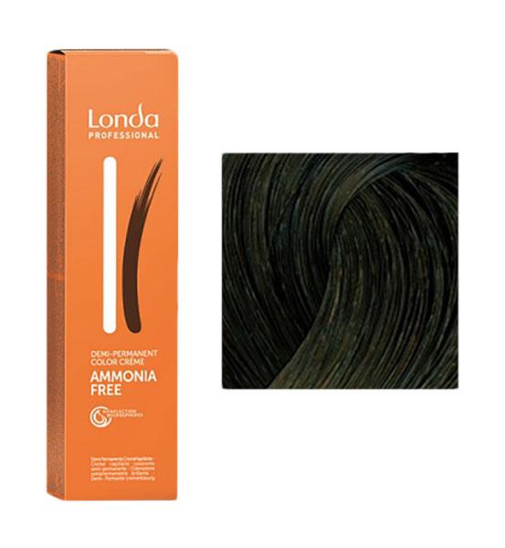 Купить Краска для волос Londa Professional Ammonia Free 4/77 Шатен интенсивно-коричневый 60 мл