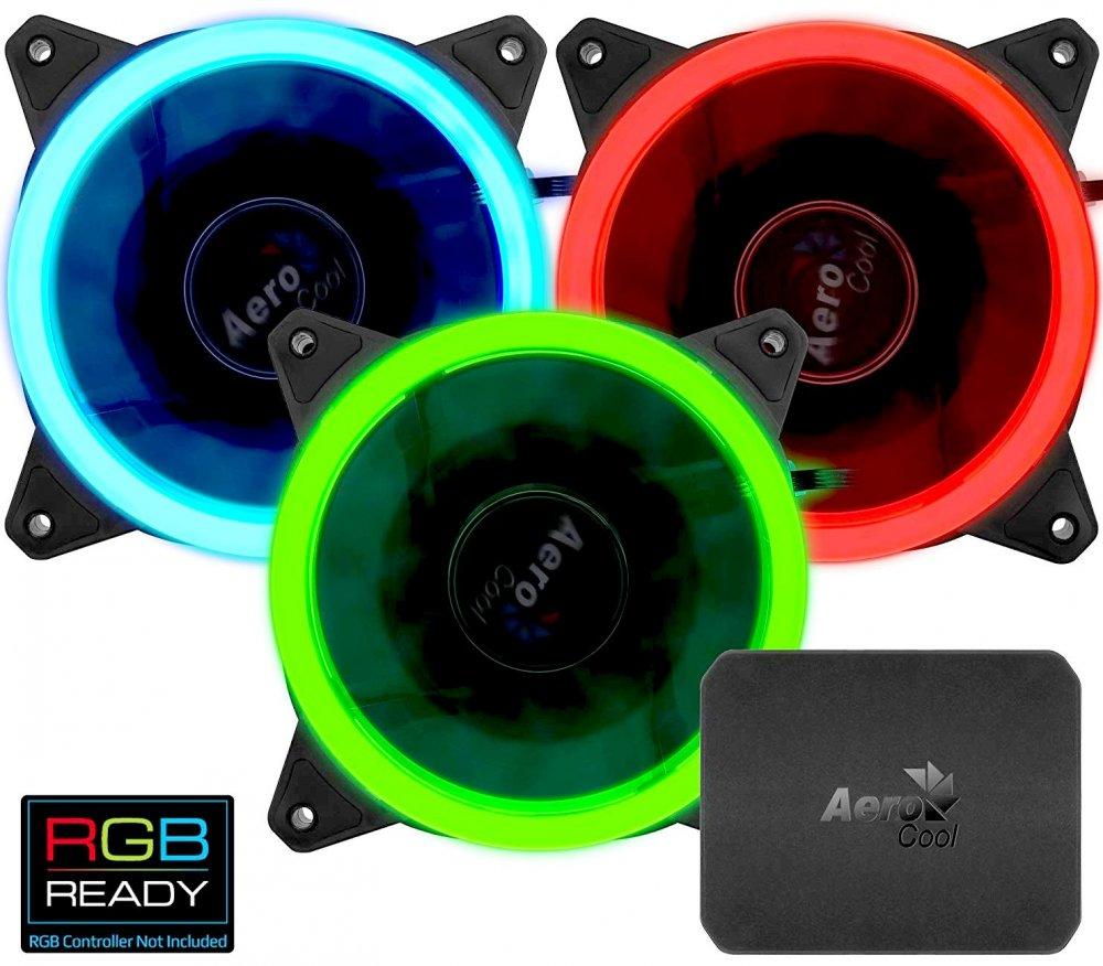 Корпусной вентилятор Aerocool Rev RGB Pro RTL