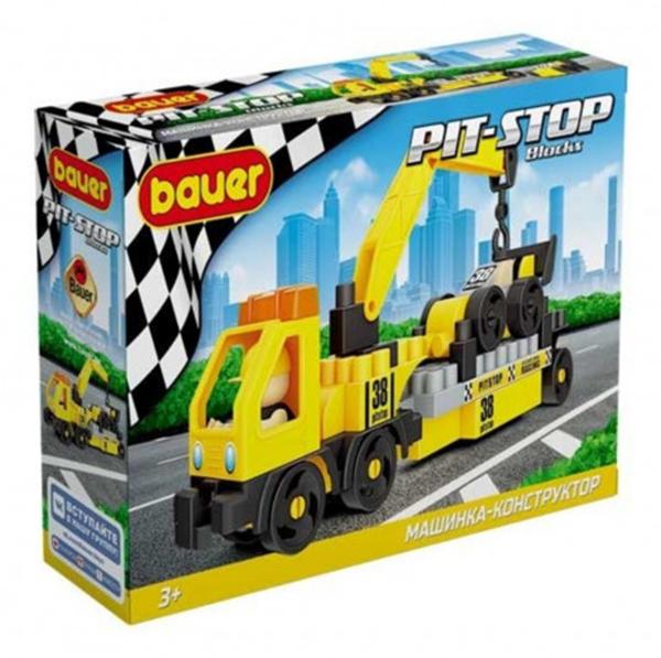 Купить Конструктор набор с эвакуатором и гоночной машиной Bauer Pit Stop, 50 элементов Bauer 816,