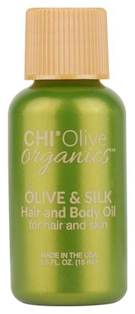 Купить Масло для волос и тела CHI Olive Organics Olive & Silk Hair and Body Oil, 15 мл