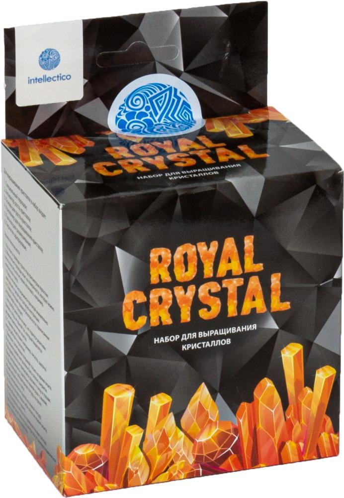 Купить Набор для выращивания кристаллов Royal Crystal, оранжевый Intellectico 516бр,