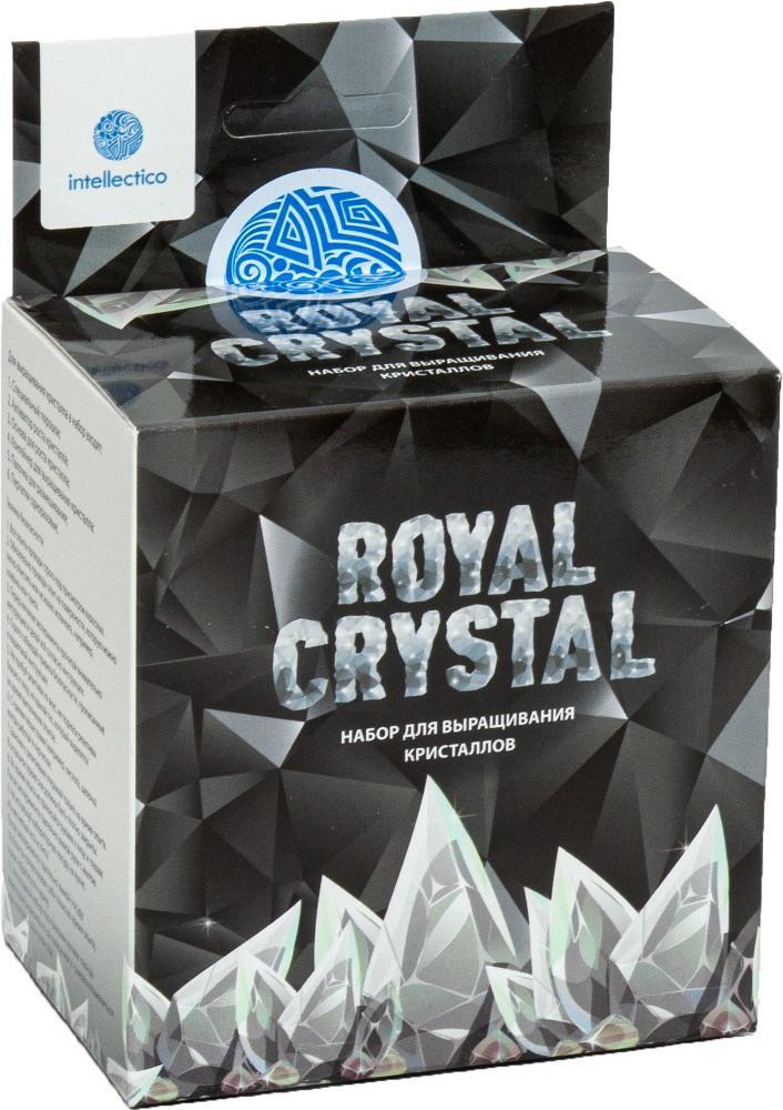 Купить Набор для выращивания кристаллов Royal Crystal, серебристый Intellectico 511бр,