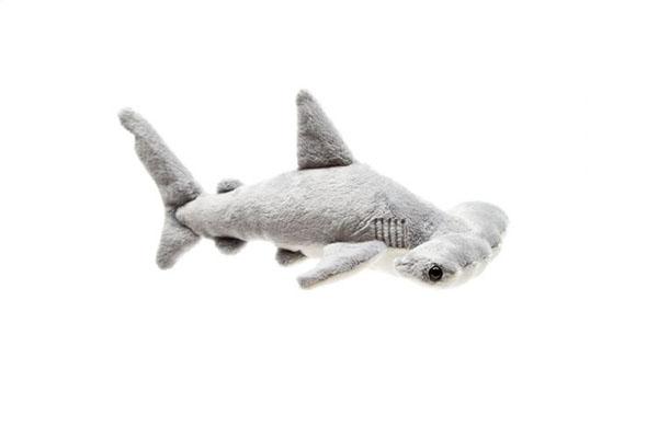 Игрушка мягконабивная Акула-молот, 22 см Leosco F60783GR