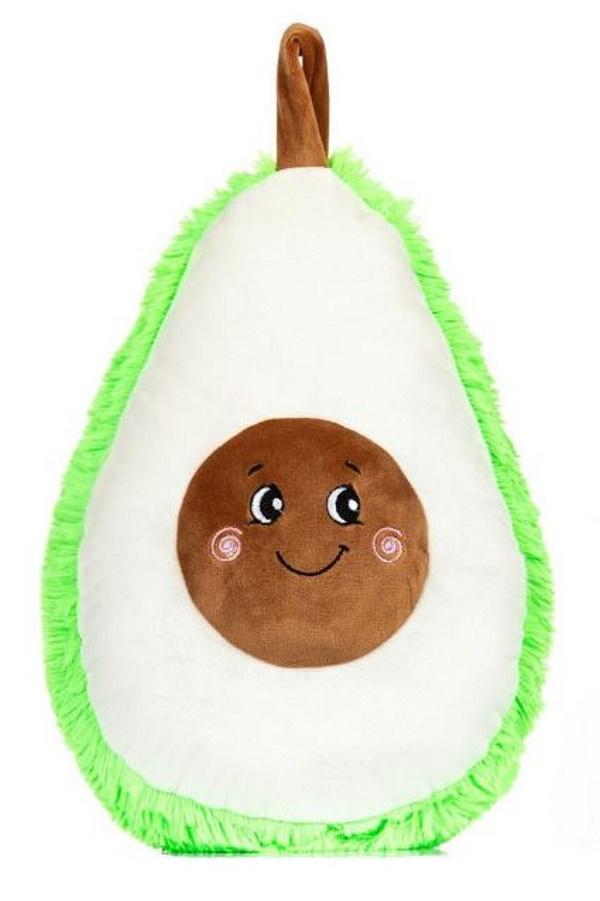 Мягкая игрушка Авокадо, цвет белый MALVINA 6.170./3