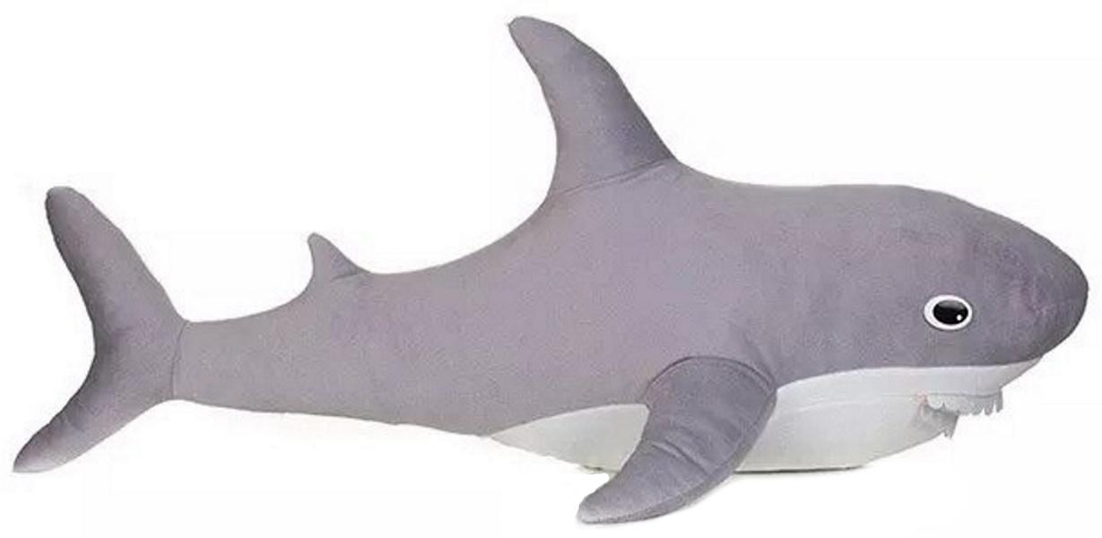 Мягкая игрушка Акула, цвет серый MALVINA 15.135.1