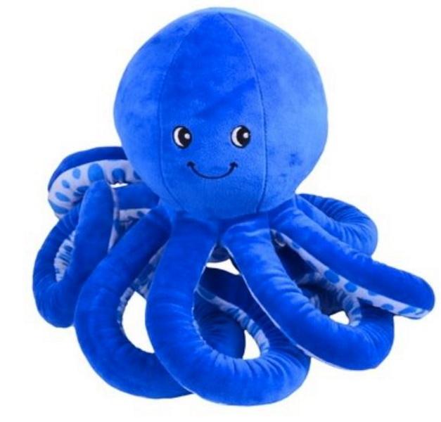 Мягкая игрушка Осьминог, цвет синий MALVINA 15.141.5