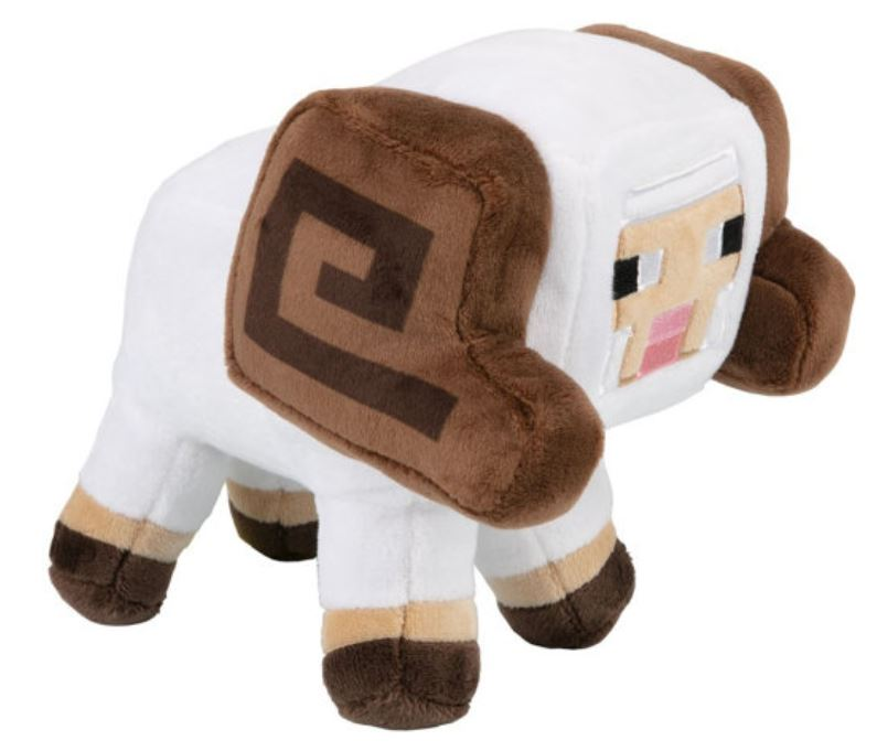 Мягкая игрушка Minecraft Earth Happy Explorer Horned Sheep, 15 см TM13327