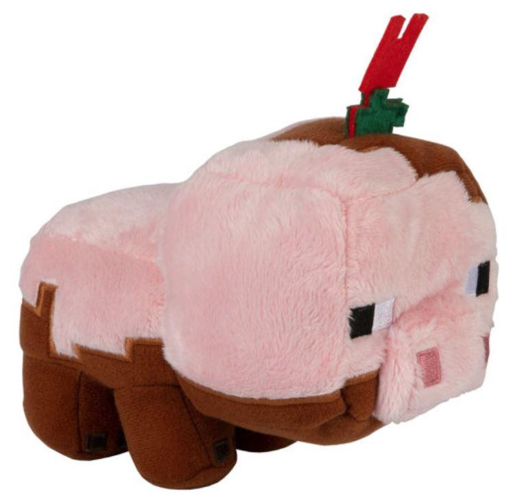 Мягкая игрушка Minecraft Earth Happy Explorer Muddy Pig, 17 см TM12906