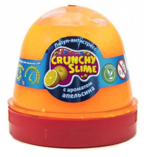 Слайм Mr.Boo Crunchy slime. Апельсин, 120 грамм ФФ80086