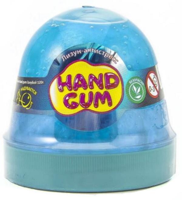 Слайм Mr.Boo Hand gum, цвет голубой, 120 грамм ФФ80099