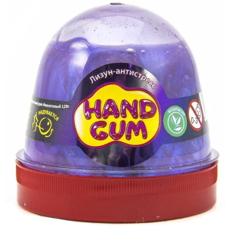 Слайм Mr.Boo Hand gum, цвет фиолетовый, 120 грамм ФФ80097