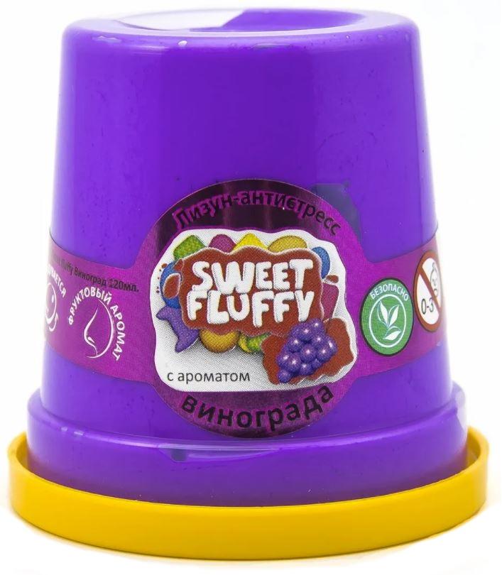 Слайм Mr.Boo Sweet fluffy. Виноград, 120 грамм ФФ80074