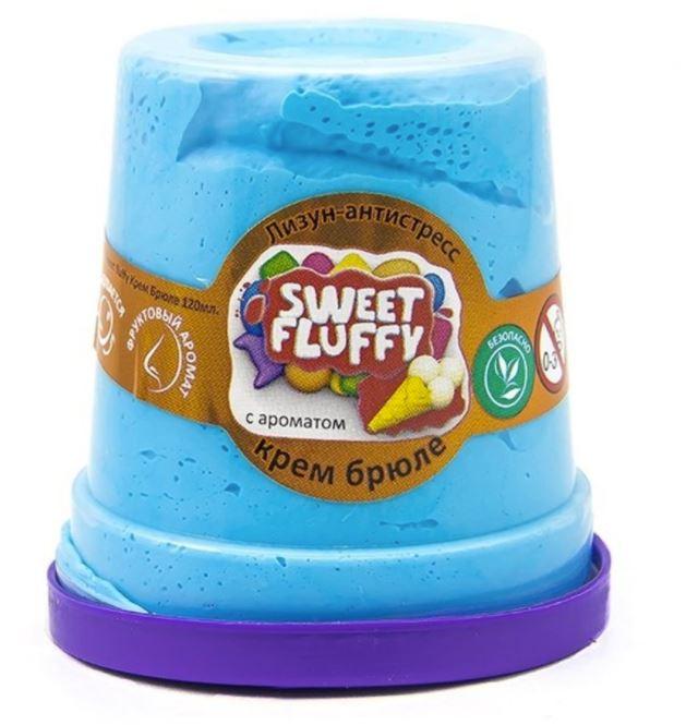 Слайм Mr.Boo Sweet fluffy. Крем-брюле, 120 грамм ФФ80078