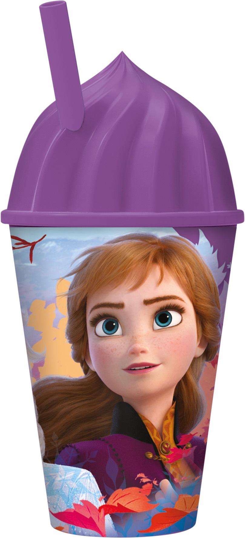Купить Стакан пластиковый с соломинкой Холодное сердце 2, 430 мл ND Play 35085,
