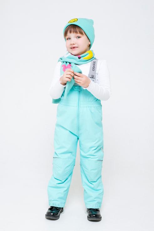 Брюки для девочек Crockid цв. голубой р-р. 104-110 ВК 46016/16 ГР