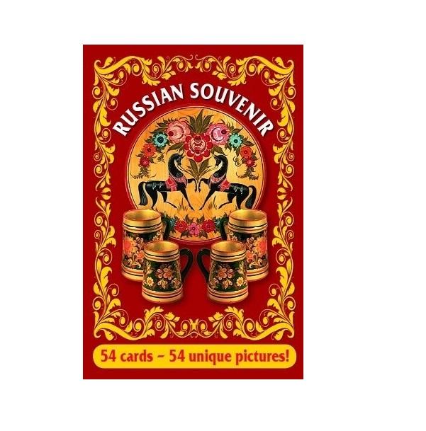 Купить Игральные карты сувенирные Русский сувенир, Медный всадник,