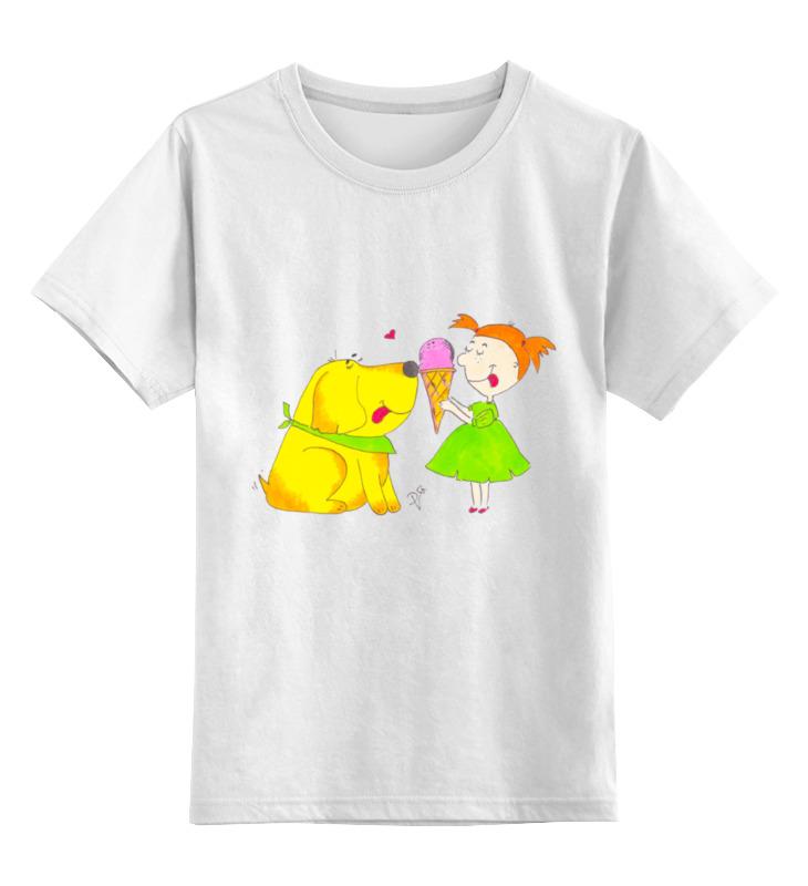 Детская футболка классическая Printio Дружба крепкая, р. 104 0000000578323