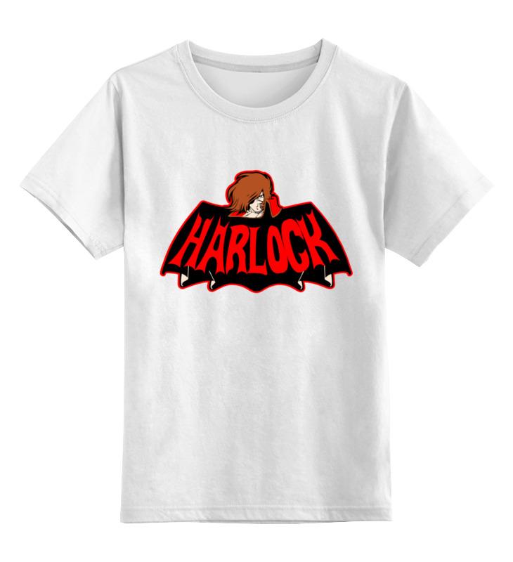 Детская футболка Printio Харлок цв.белый р.140 0000003279934 по цене 790