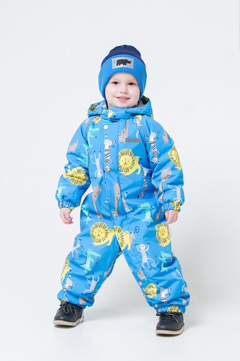 Комбинезон для мальчиков Crockid цв. голубой р-р. 68 ВК 60013/н/54 УЗГ