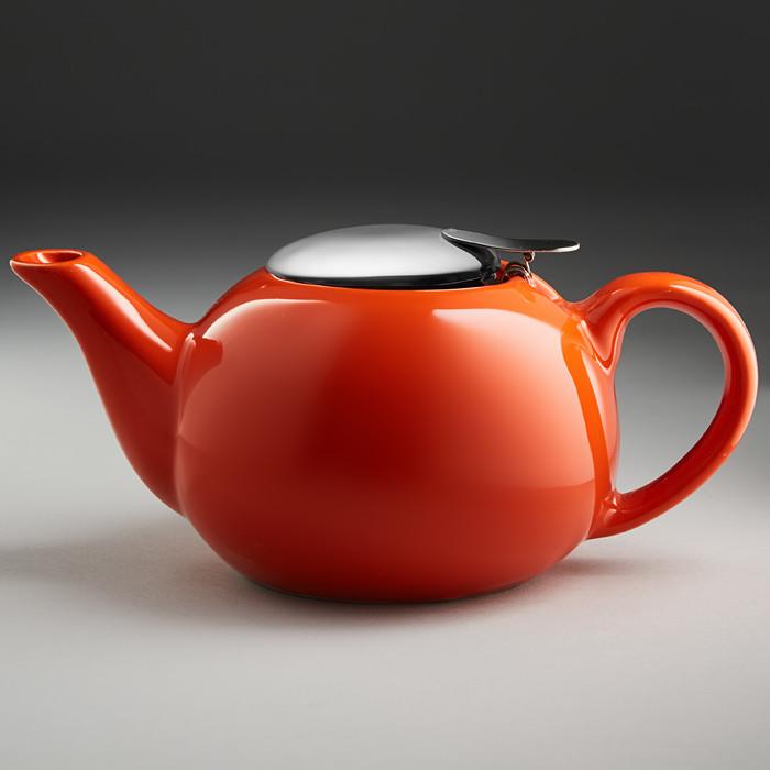 Чайник заварочный Ф19 010R, 750 мл (оранжевый)