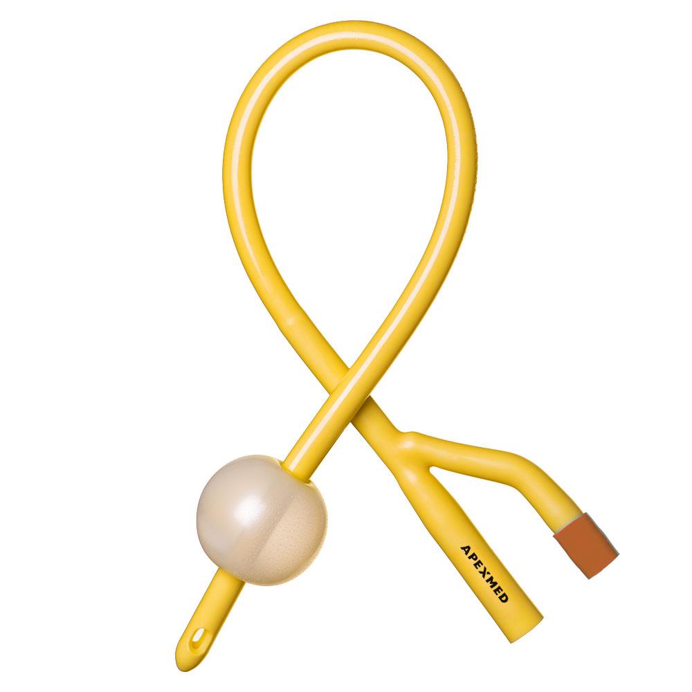 Купить Катетер урологический Фолея мужской двухходовой Ch/Fr 6 Apexmed, Apexmed International