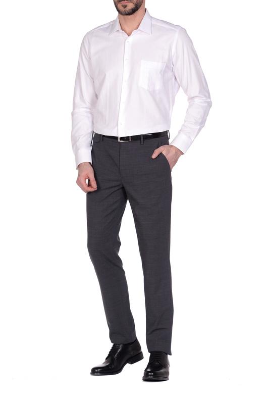 Рубашка мужская KarFlorens MIM8 белая M
