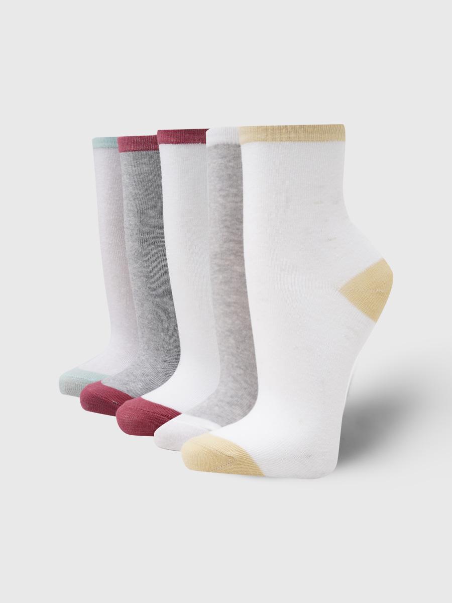 Набор носков женских ТВОЕ A6082 белых ONE SIZE