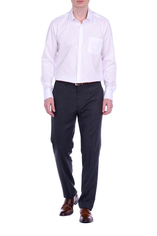 Рубашка мужская KarFlorens BUR10130 белая L