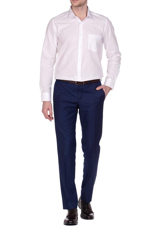 Рубашка мужская KarFlorens 849-13 белая L