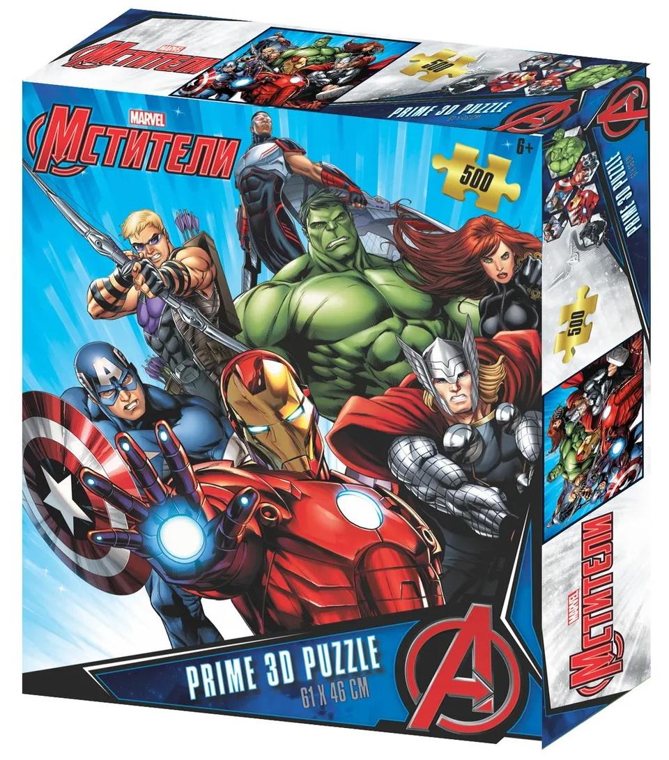 Купить Пазл Prime 3D Мстители, 500 деталей Prime3D 32569,