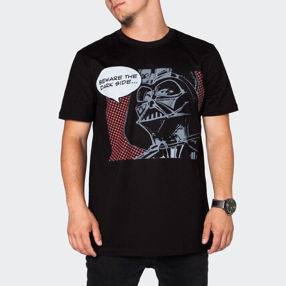 Футболка мужская Легендариум Звездные войны Дарт Вейдер комикс черная XL фото