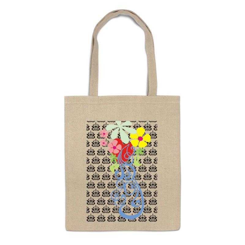 Сумка-шоппер Printio Цветочный узор 2106524