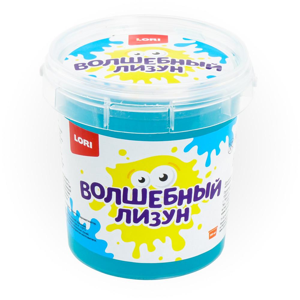 Лизун волшебный LORI Голубой с ароматом тутти-фрутти, 150 мл