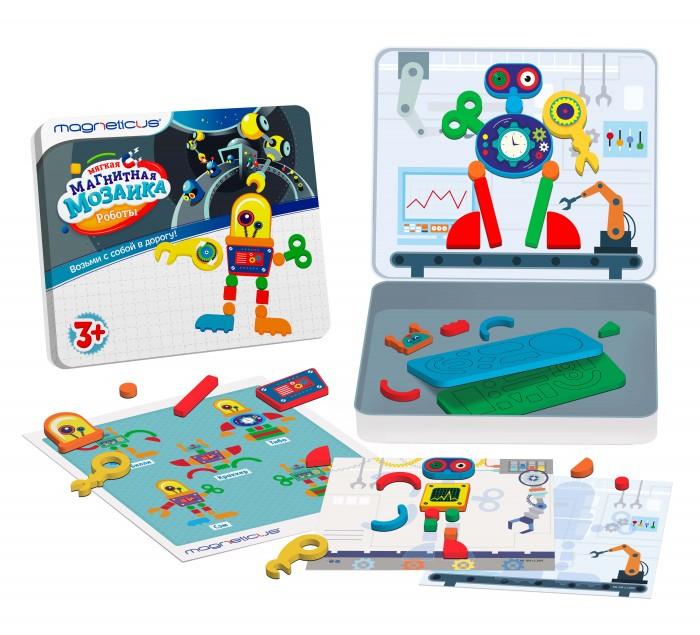 Магнитная мозаика Magneticus Роботы