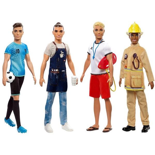 Купить Кукла Mattel Барби Кем быть Кен, в ассортименте,