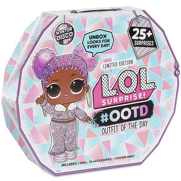 Купить Игровой набор MGA Entertainment LOL Зимнее диско Модный образ, 25 сюрпризов, Коллекционные куклы