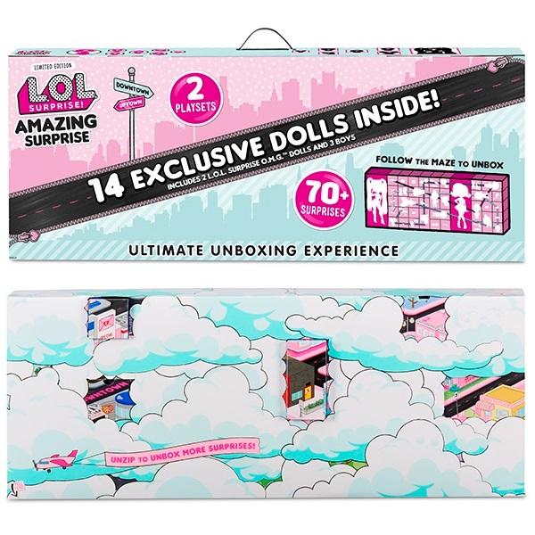 Купить Набор MGA Entertainment LOL Удивительный Сюрприз, 14 кукол, Классические куклы