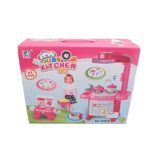 Купить Детская кухня Shantou Gepai Kids Kithen Set со световыми и звуковыми эффектами