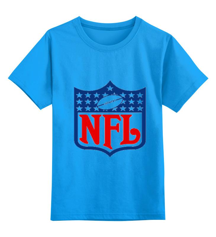 Купить 0000000641662, Детская футболка классическая Printio Nfl, р. 128,