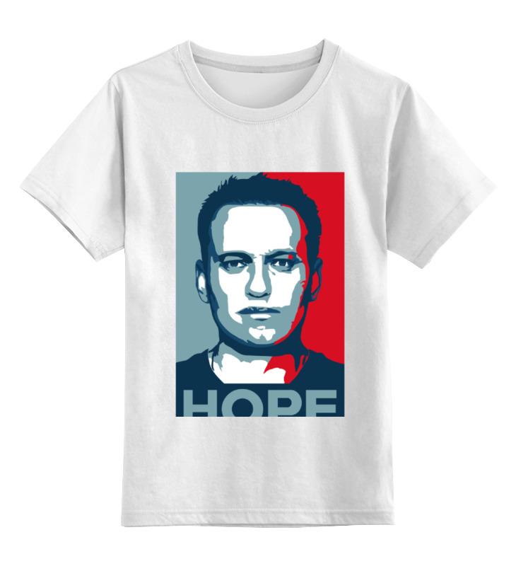 Купить 0000000642526, Детская футболка классическая Printio Nh, р. 104,