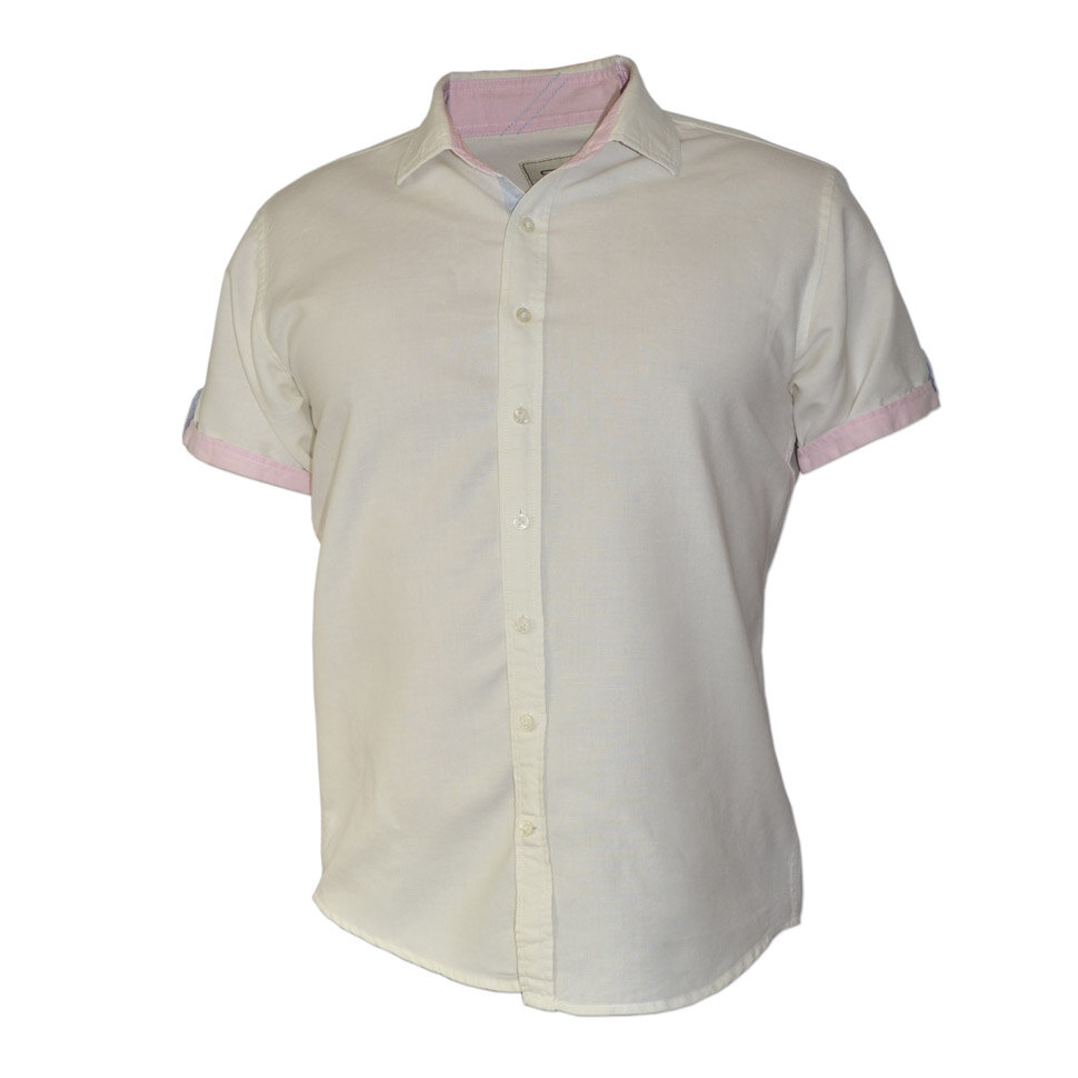 Рубашка мужская Styler 80-035 белая XL