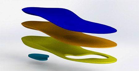 Купить Ортопедические стельки для спортивной обуви 109 Орто.Ник, р.45/46, Ortonik