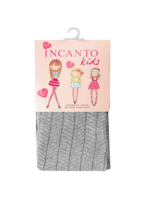 Купить FC00217, Колготки детские Incanto Kids, цв. серый р.128,
